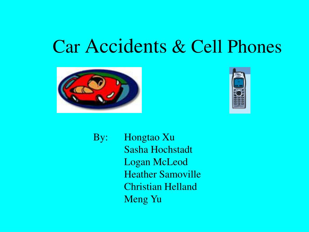car accidents cell phones