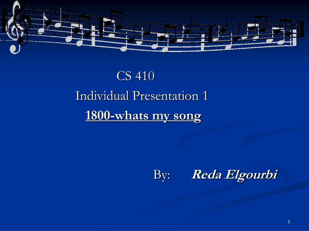 CS 410