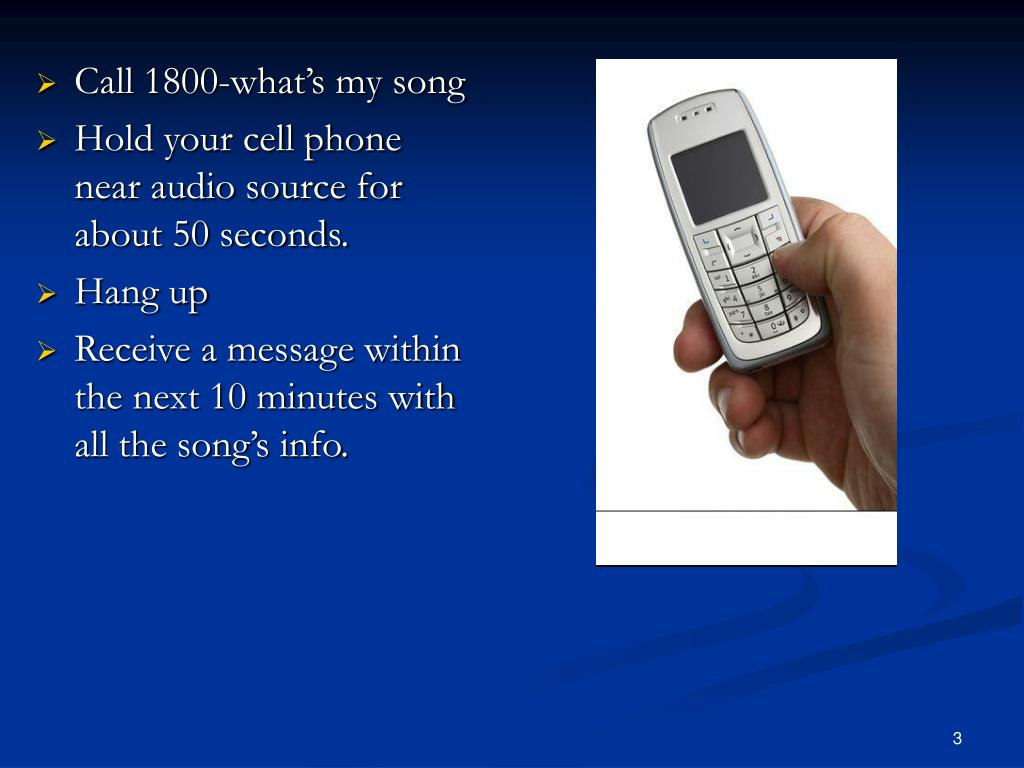 Call 1800-what's my song