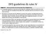 dfd guidelines rules iv