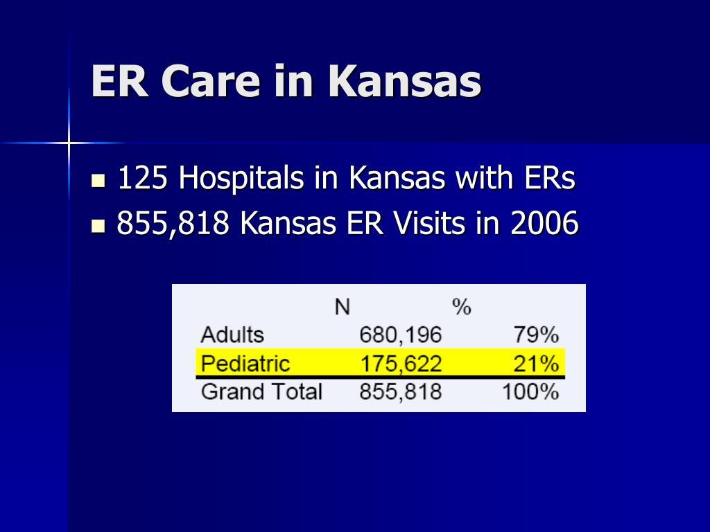 ER Care in Kansas