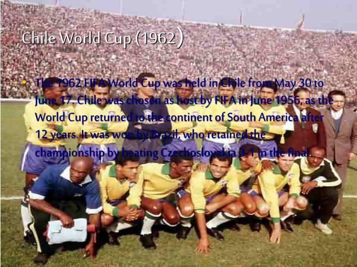 Chile world cup 1962