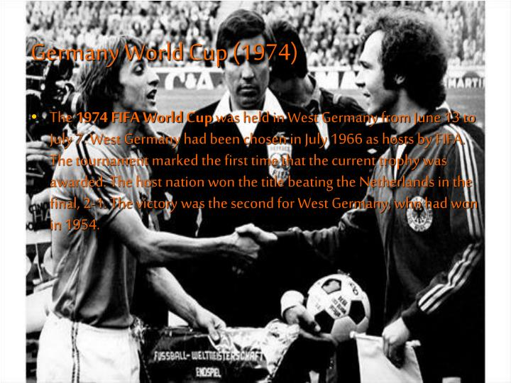 Germany World Cup (1974)