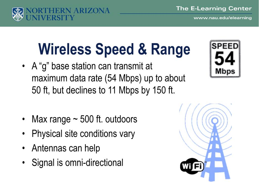 Wireless Speed & Range