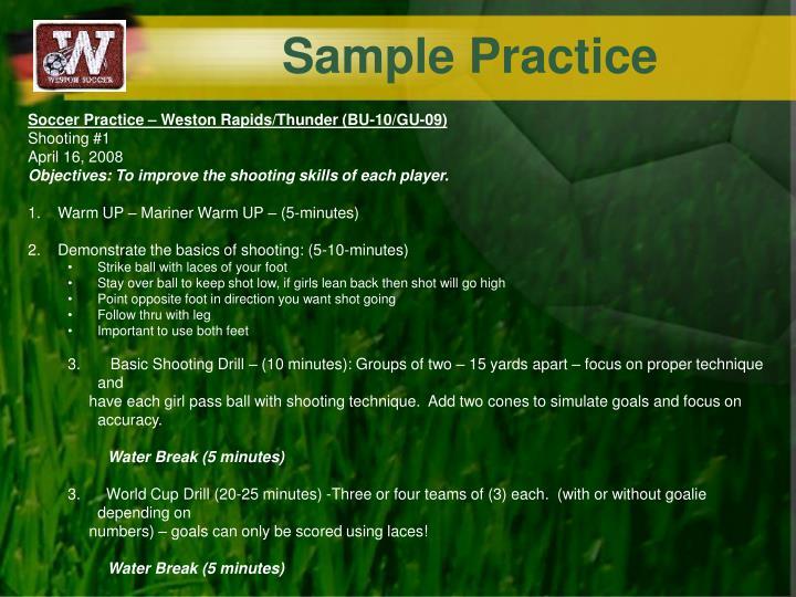 Sample Practice