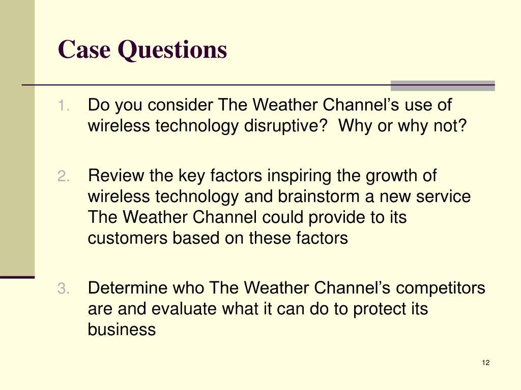 Case Questions