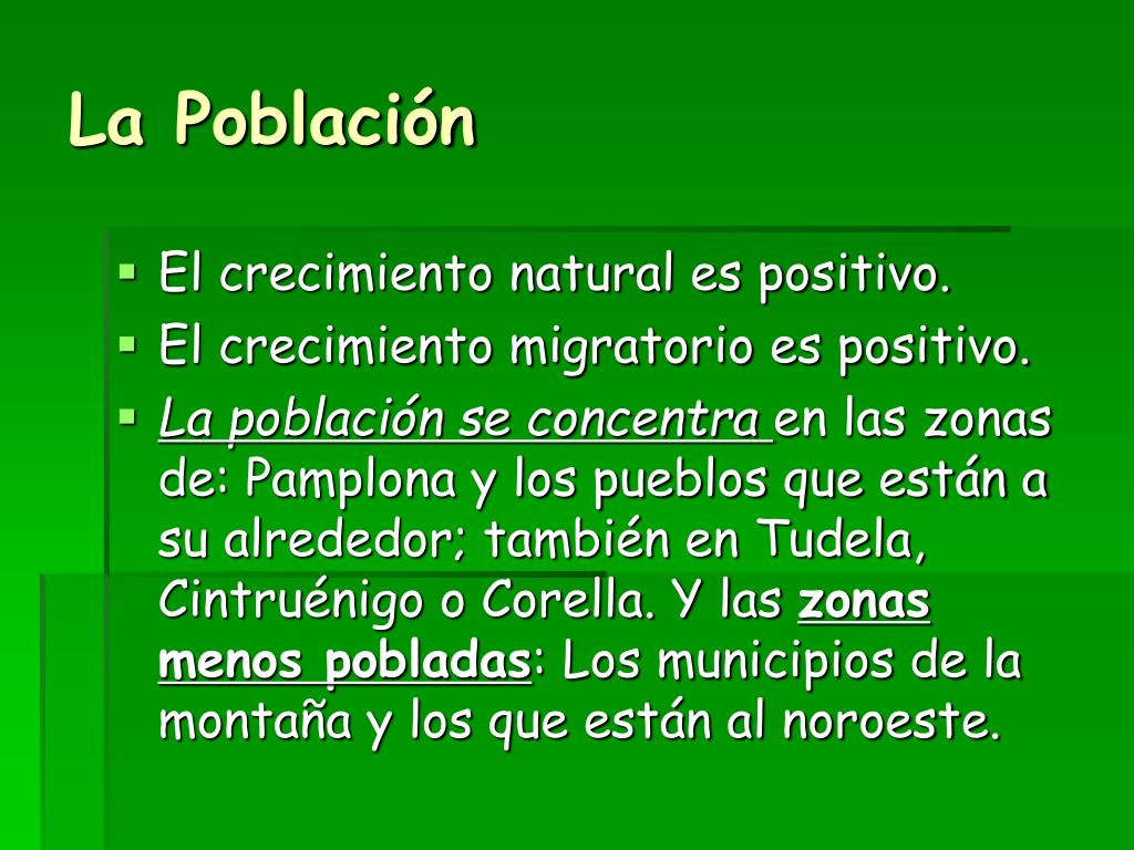 La Población