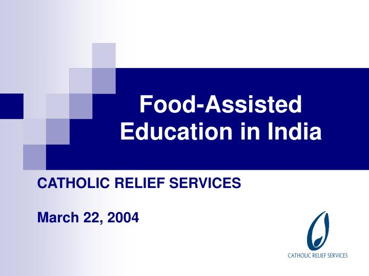 Food assisted education in india
