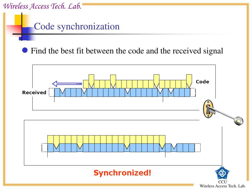 Code synchronization