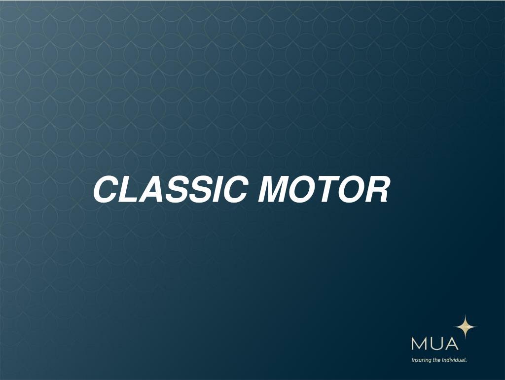 CLASSIC MOTOR