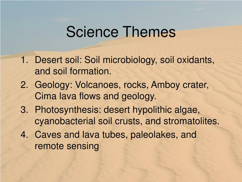 Science Themes