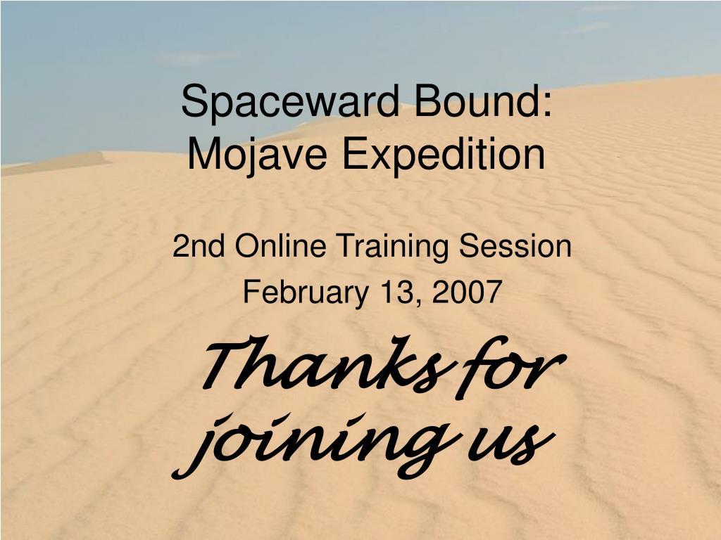 Spaceward Bound: