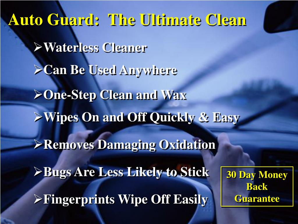 Auto Guard:  The Ultimate Clean
