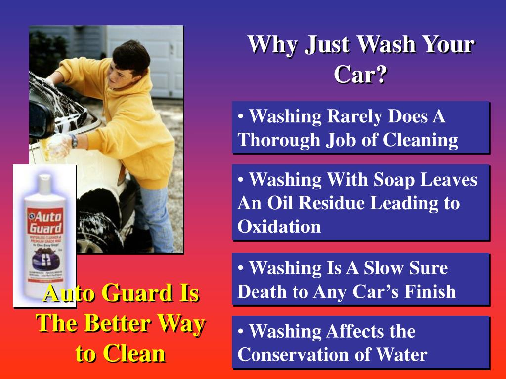 Why Just Wash Your Car?