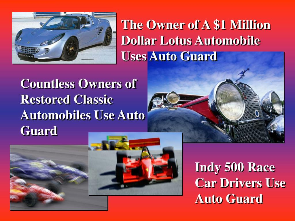 The Owner of A $1 Million Dollar Lotus Automobile Uses Auto Guard