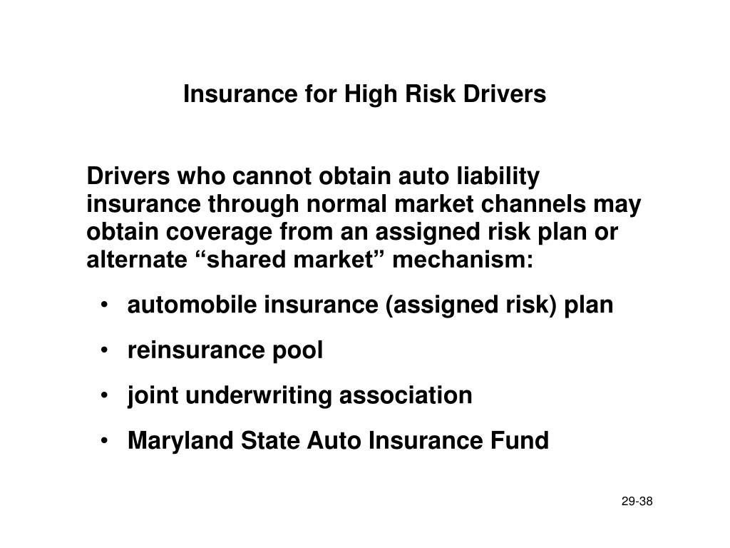 Insurance for High Risk Drivers