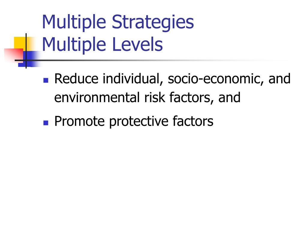 Multiple Strategies