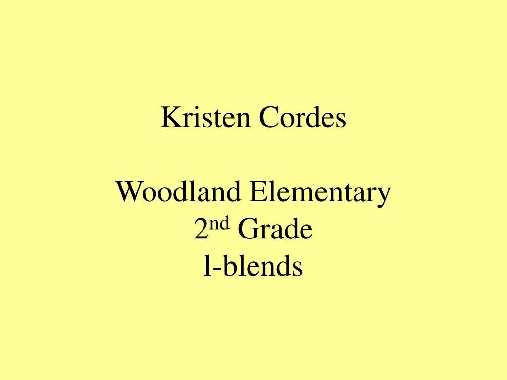 Kristen Cordes