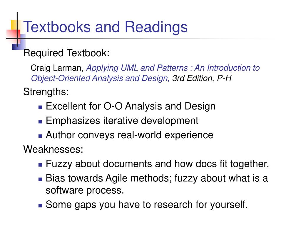 Textbooks and Readings