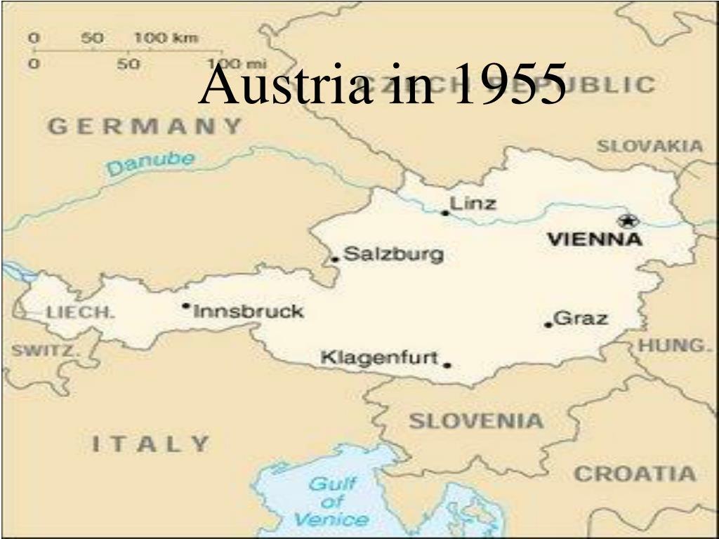 Austria in 1955