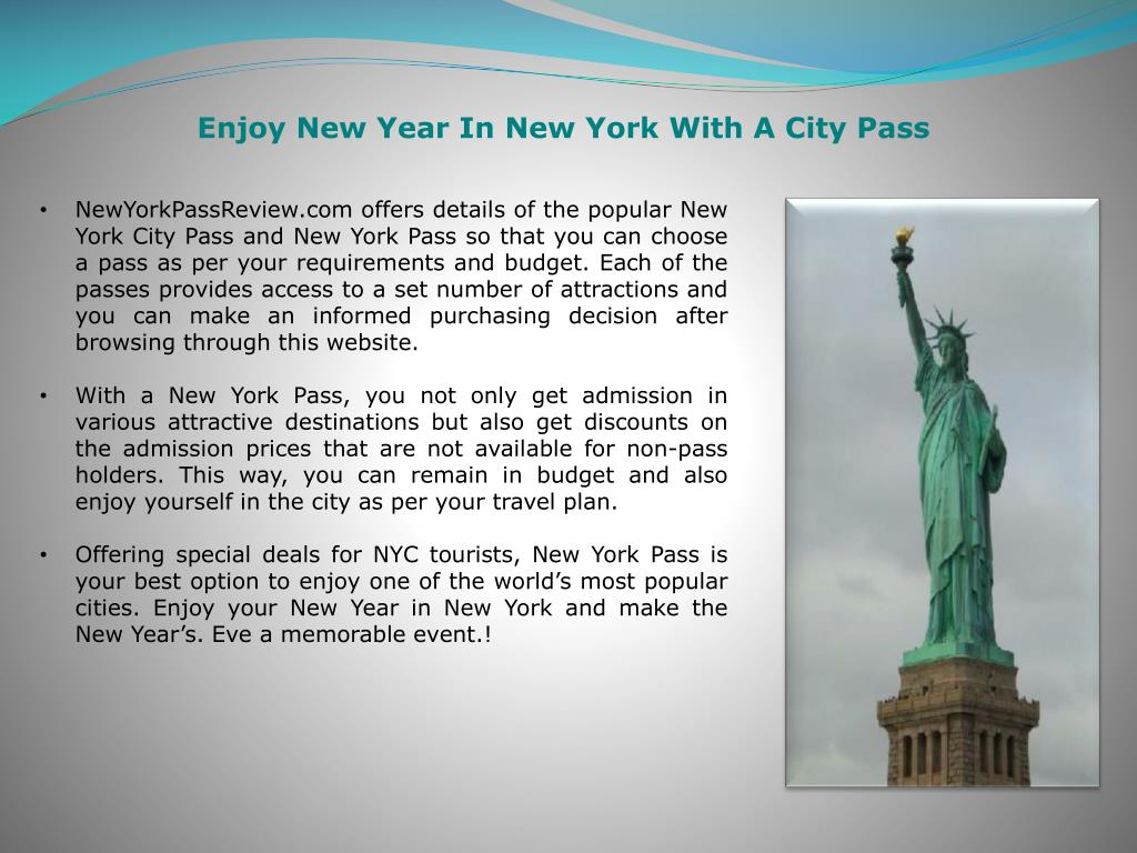 Enjoy New Year In New York With A City Pass