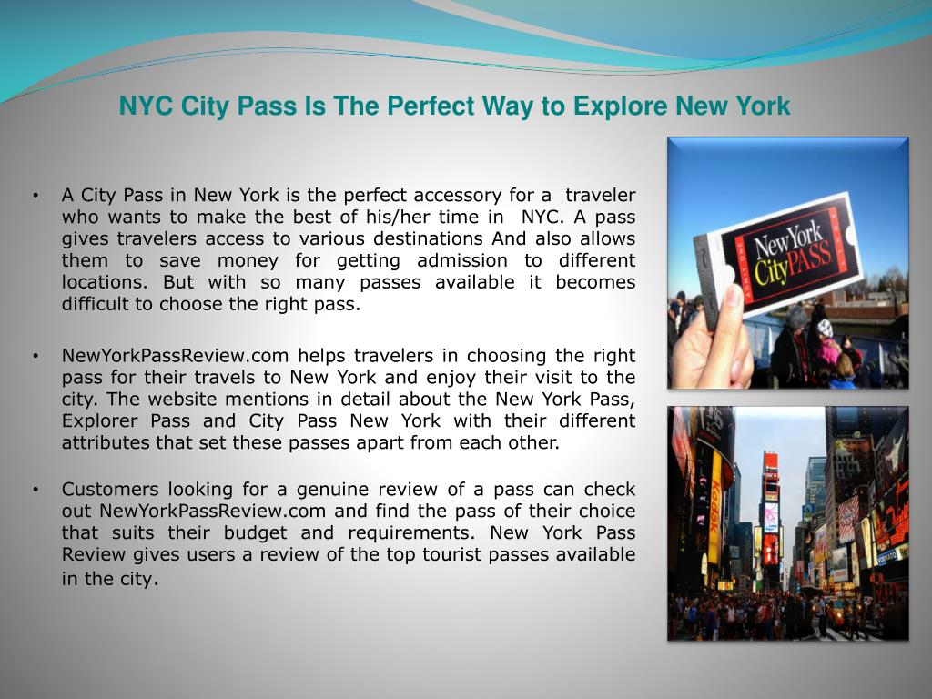 NYC City Pass Is The Perfect Way to Explore New York