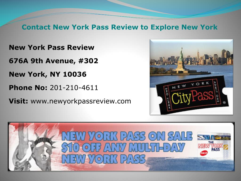 Contact New York Pass Review to Explore New York