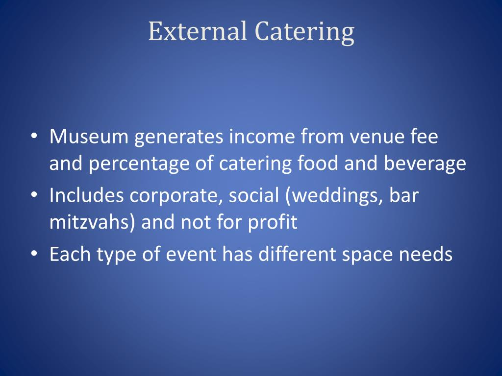 External Catering