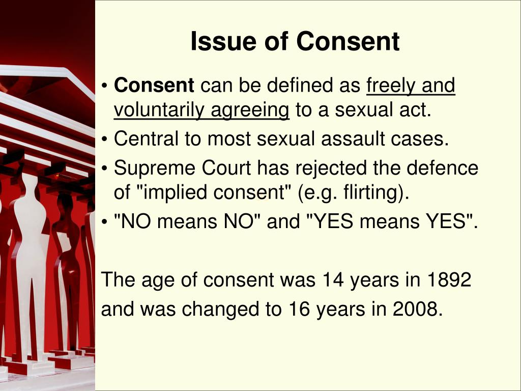 Issue of Consent