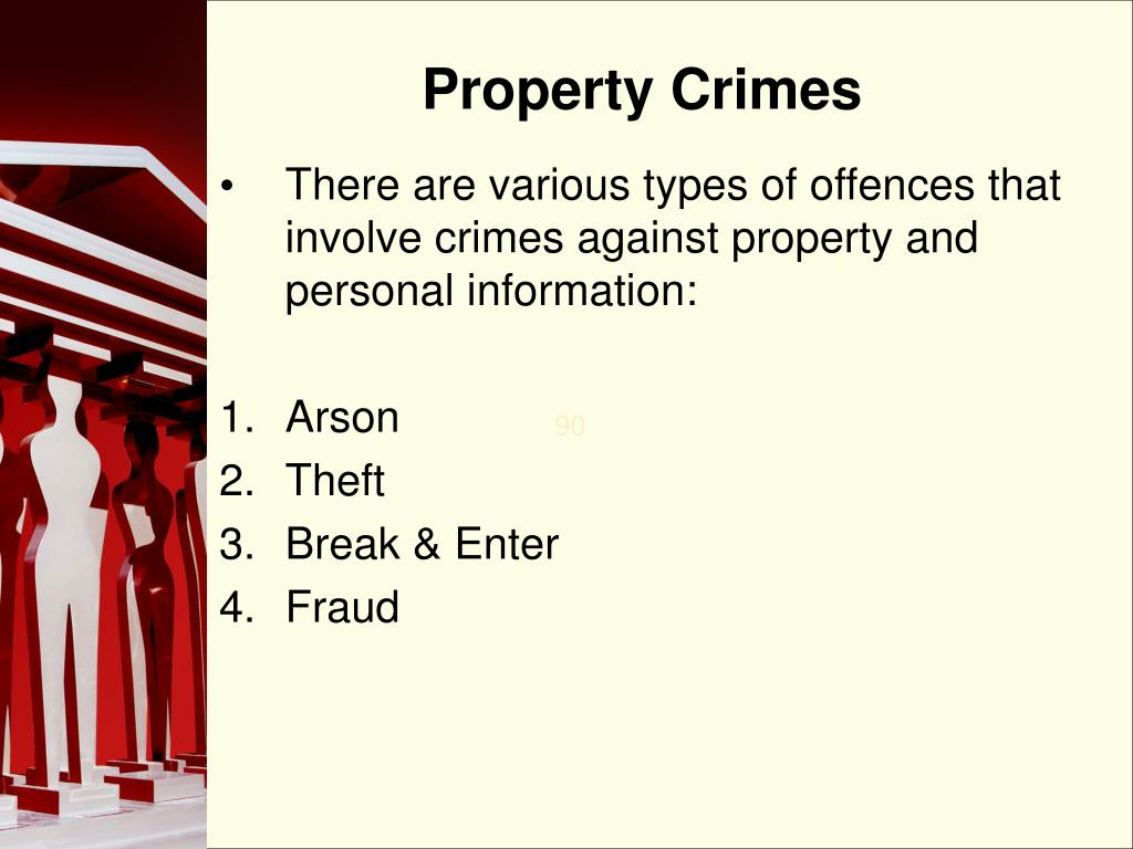 Property Crimes