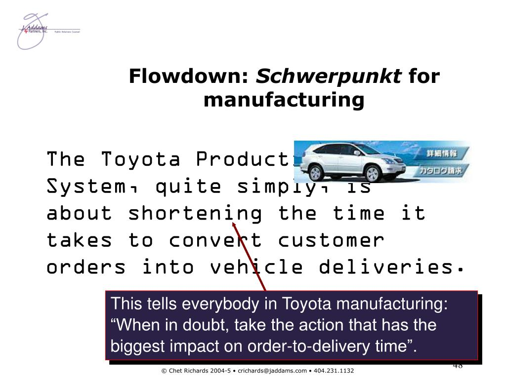 Flowdown: