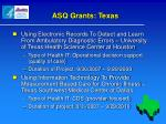 asq grants texas