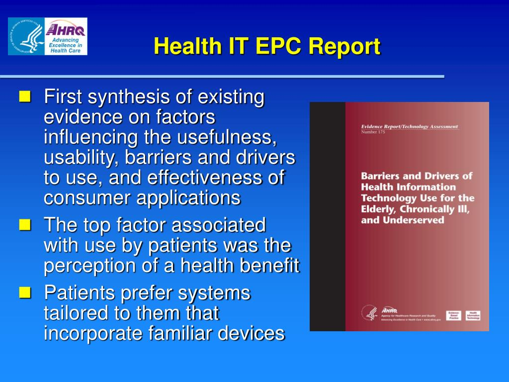 Health IT EPC Report