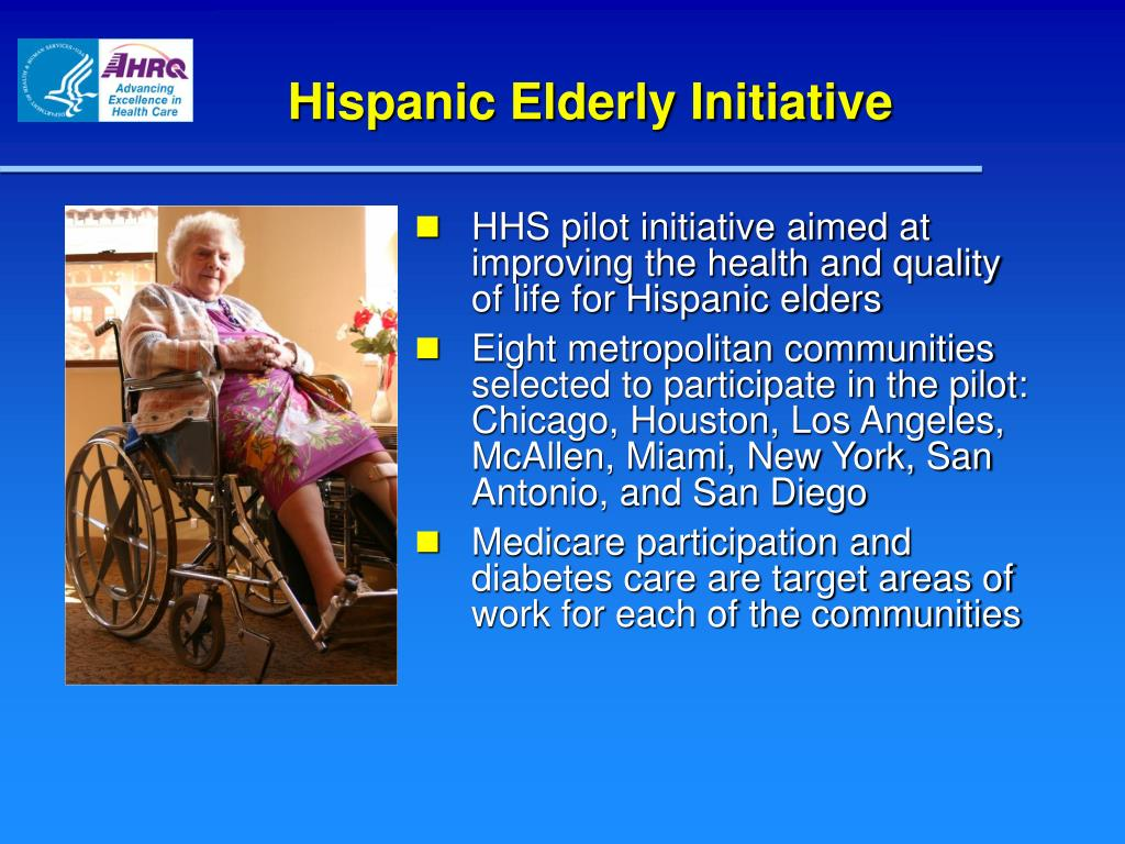 Hispanic Elderly Initiative