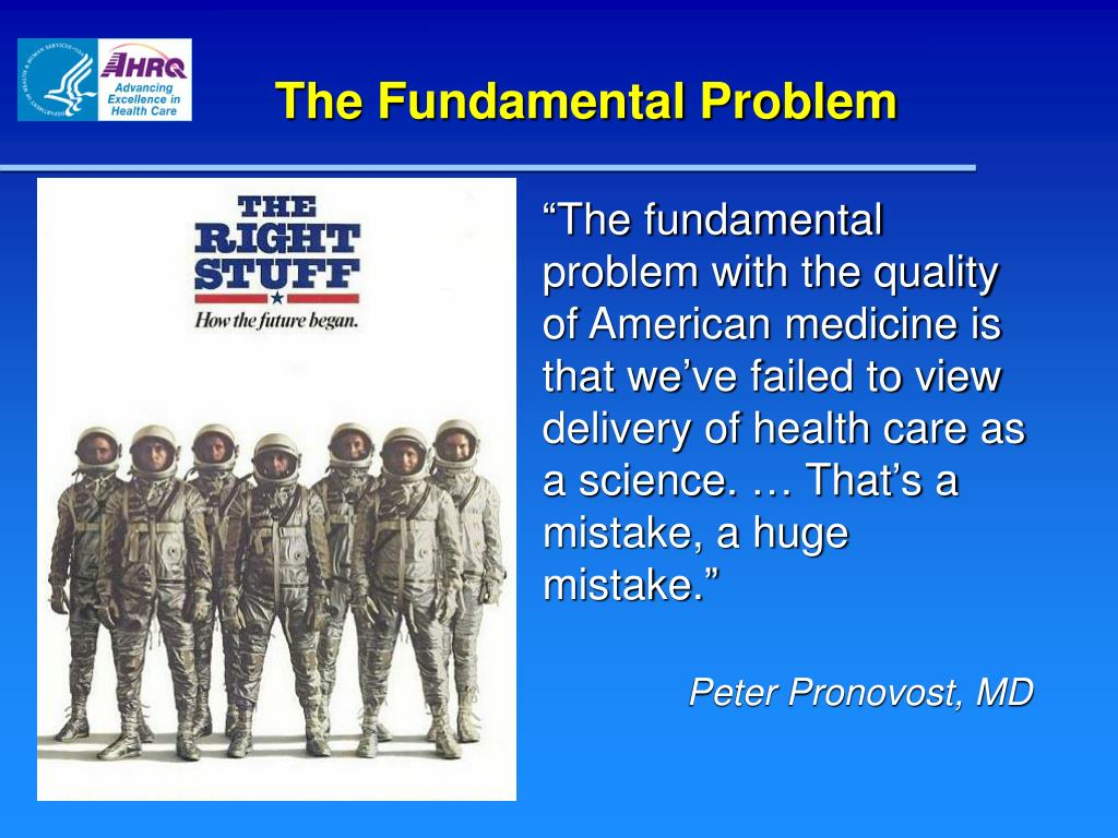 The Fundamental Problem