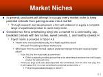 market niches41