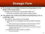 strategic form18