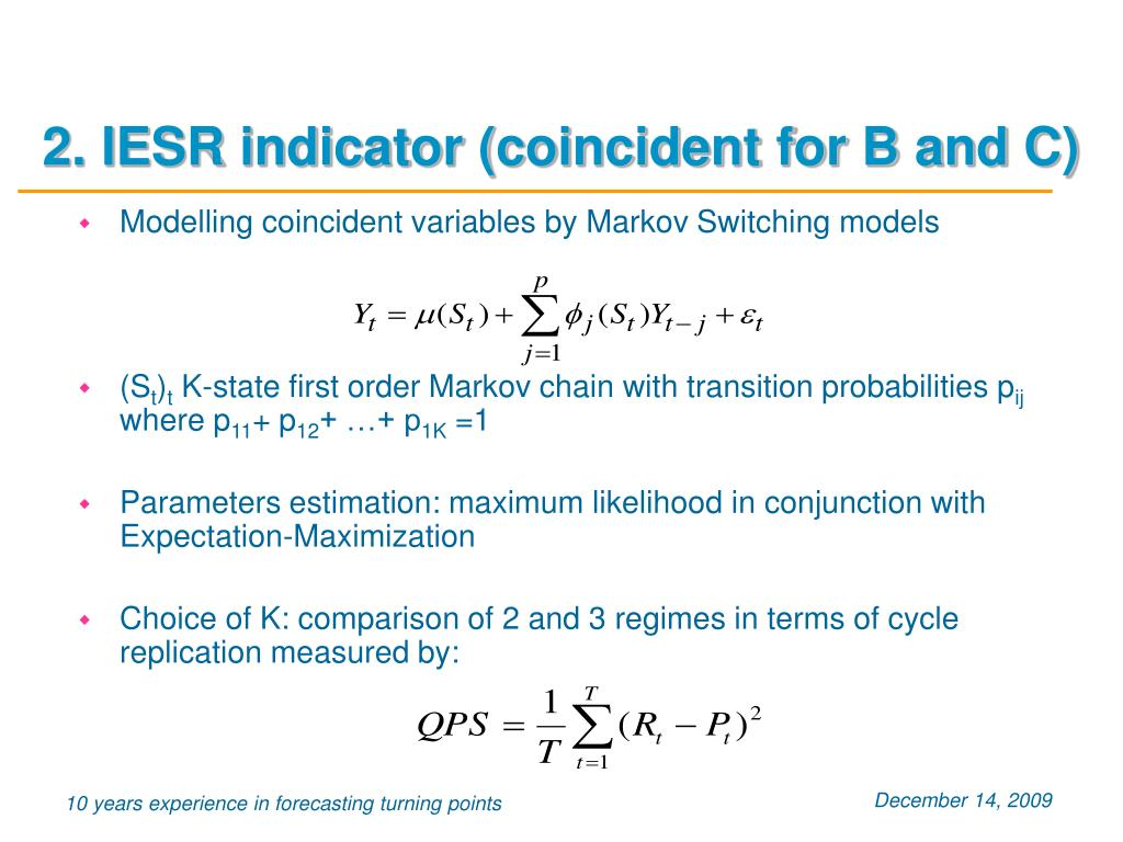 2. IESR indicator (coincident for B and C)