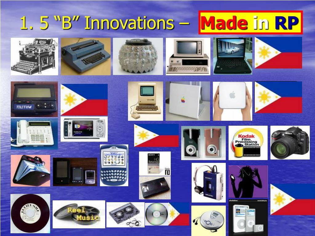 """1. 5 """"B"""" Innovations –"""