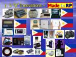 1 5 b innovations made in rp
