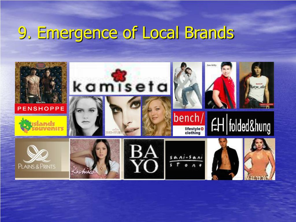 9. Emergence of Local Brands
