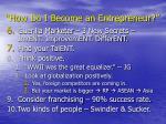 how do i become an entrepreneur22