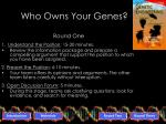 who owns your genes