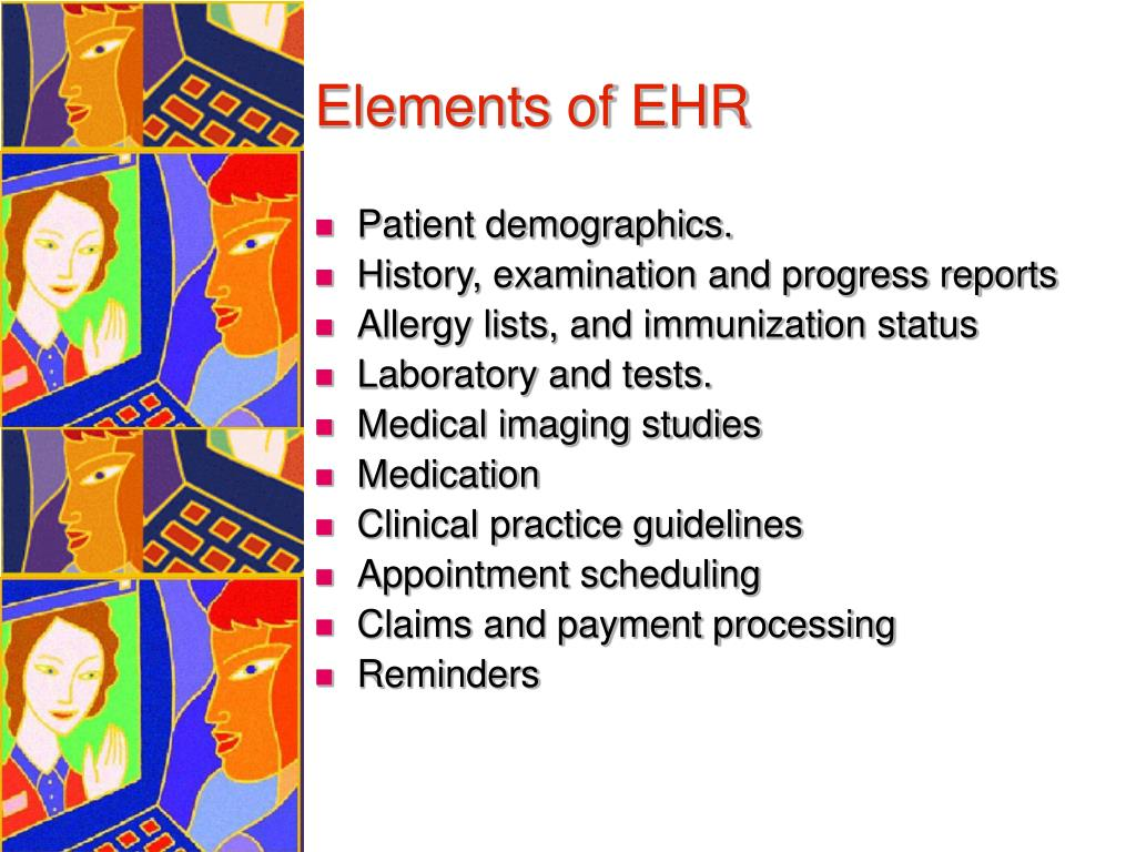 Elements of EHR