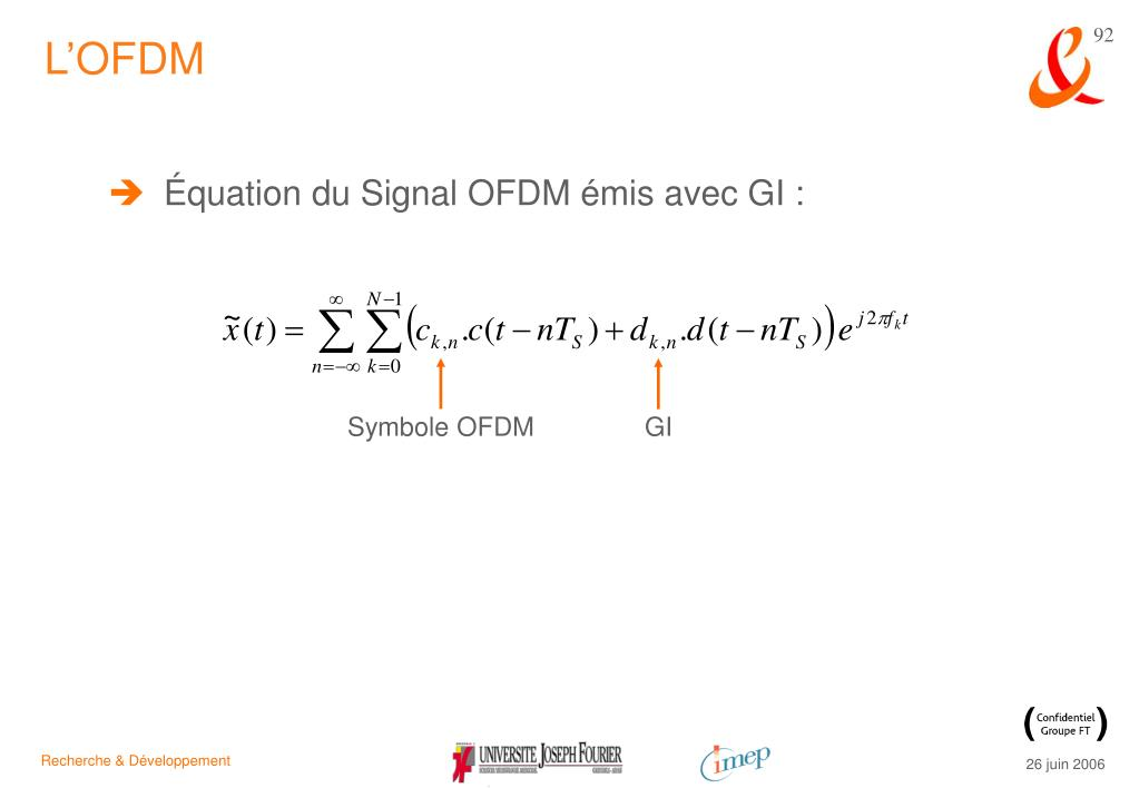 L'OFDM