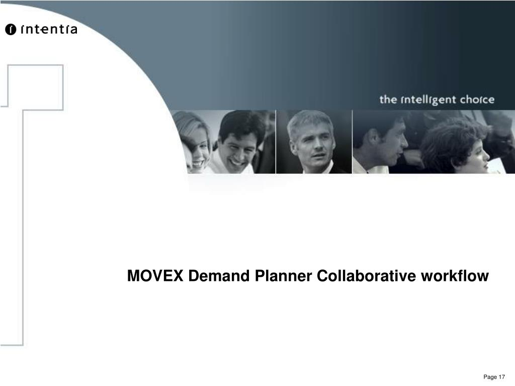 MOVEX Demand Planner Collaborative workflow