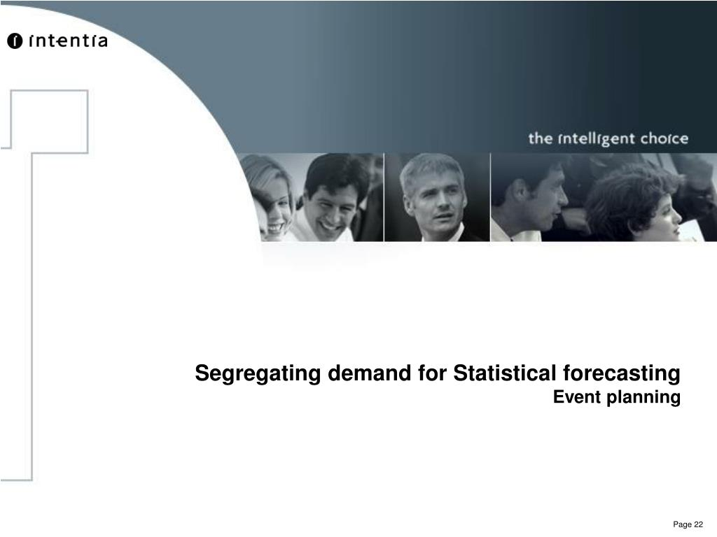 Segregating demand for Statistical forecasting