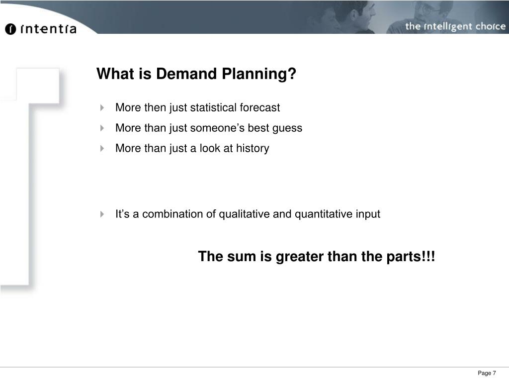 What is Demand Planning?