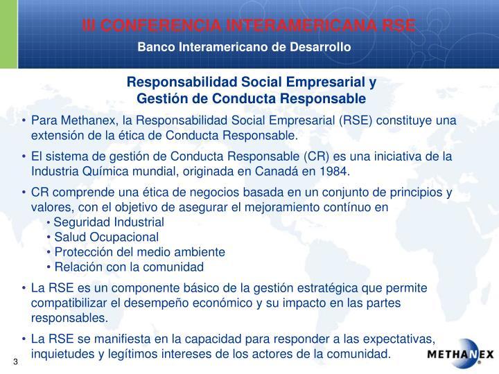 Responsabilidad Social Empresarial y