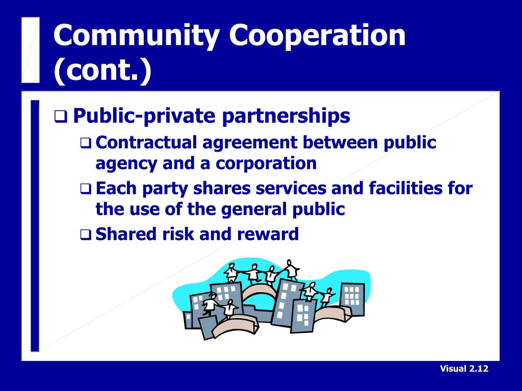 Community Cooperation (cont.)